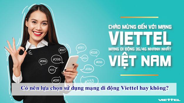 Thuê bao trả sau của nhà mạng Viettel rẻ và đa dạng gói cước.